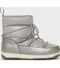 svea snowflake low flat boots