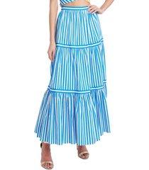 bcbgmaxazria striped maxi skirt