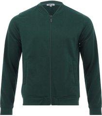 chaqueta bomber color verde,talla xl