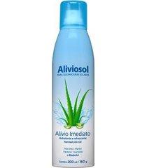 hidratante pós-sol aerosol - aliviosol 200ml