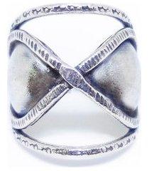 anel infinito de prata 925 kumbayá joias