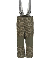 pantalon andes snow print verde militar lippi