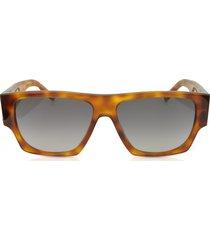 saint laurent designer sunglasses, sl m17 rectangle frame acetate men's sunglasses