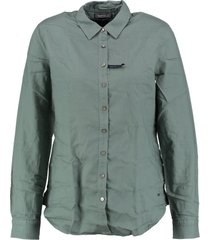tommy hilfiger regular fit blouse balsam green