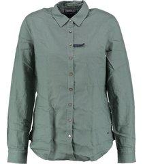 tommy hilfiger regular fit blouse balsam green
