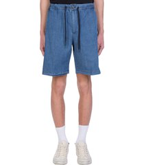 pt01 shorts in blue denim