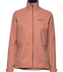 w velox jacket zomerjas dunne jas roze peak performance