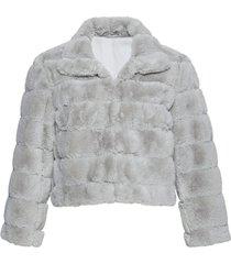 giacca corta in pelliccia sintetica (grigio) - bpc selection premium