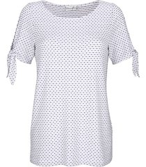 topp dress in vit