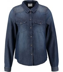 vero moda denim blouse