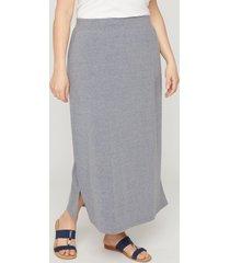 suprema maxi skirt in gray