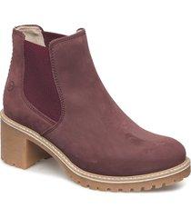 woms boots shoes boots ankle boots ankle boots with heel lila tamaris