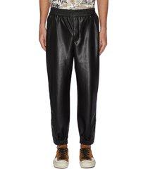 'goro' vegan leather pants