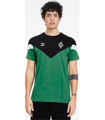 borussia mönchengladbach mcs t-shirt voor heren, groen/aucun, maat xxl   puma