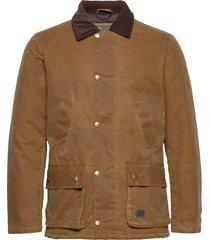 curtis fodrad jacka brun brixtol textiles