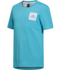 camiseta adidas aeroready azul