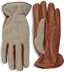 classic textured gloves