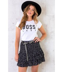 boss lady top wit