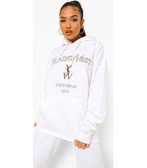 petite pastel ye saint west hoodie, white