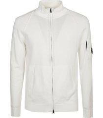 c.p. company high neck ribbed jacket