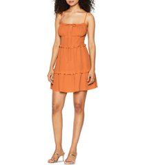 bcbgeneration tiered cami dress