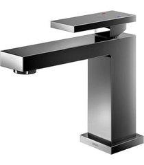 misturador monocomando para banheiro mesa bica baixa new edge grafite polido - 00925348 - docol - docol