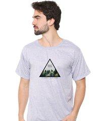 camiseta sandro clothing dont touch cinza - cinza - masculino - dafiti