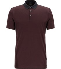 boss men's pitton slim-fit polo shirt