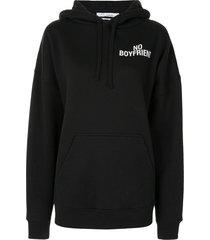 iro no boyfriend hoodie - black