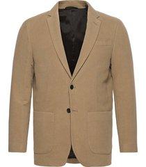 d2. slim moleskin blazer blazer colbert beige gant