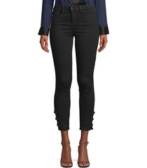 l'agence women's margot high-rise ankle skinny jeans - noir - size 24 (0)