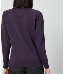 isabel marant étoile women's millyp sweatshirt - faded night - fr 40/uk 12