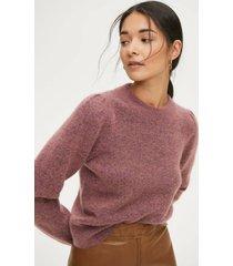 tröja brooky knit volumen o-neck