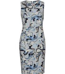 kashaiw dress jurk knielengte blauw inwear