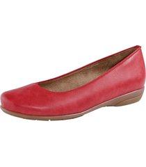 ballerinaskor jenny röd