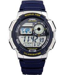 reloj azul casio ae_1000w_2av - superbrands