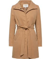 bycirla coat - yllerock rock beige b.young