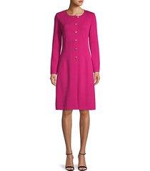 santana wool-blend dress