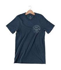 camiseta arimlap authentic azul marinho