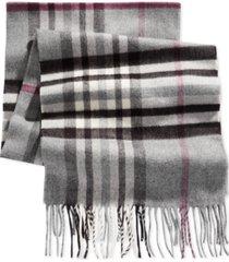 v. fraas cashmink oversized check scarf