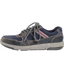 skor klingel marinblå