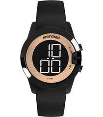 relógio mormaii mo13001a/8j feminino