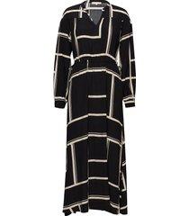 whonda ankle dress jurk knielengte zwart soft rebels