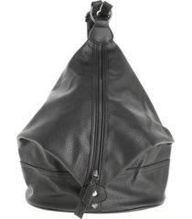 mochila cierre negro i-d