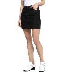 falda animal naomi negra five
