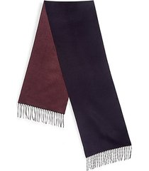 collection solid double faced scarf