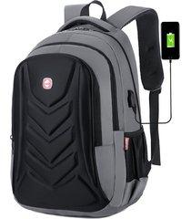 bolso de la computadora de moda mochila impermeable multifuncional