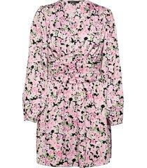 althea dress kort klänning rosa gina tricot
