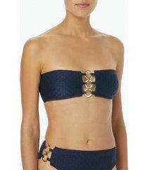 bikini top sea side texture bandeau