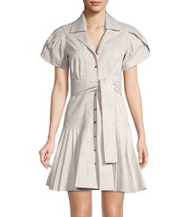 haylee button-front dress